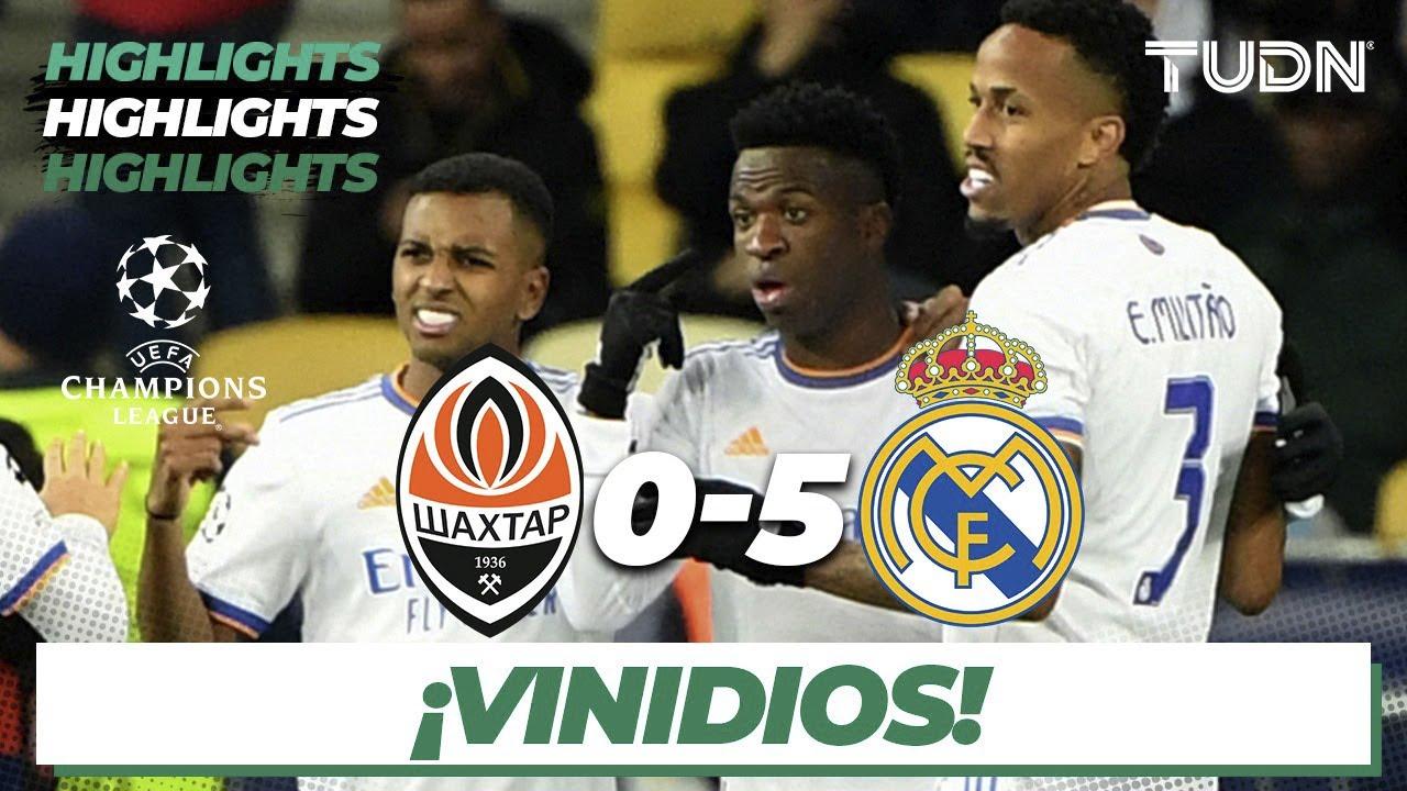 Highlights and goals: Shakhtar Donetsk 0-5 Real Madrid in UEFA ...