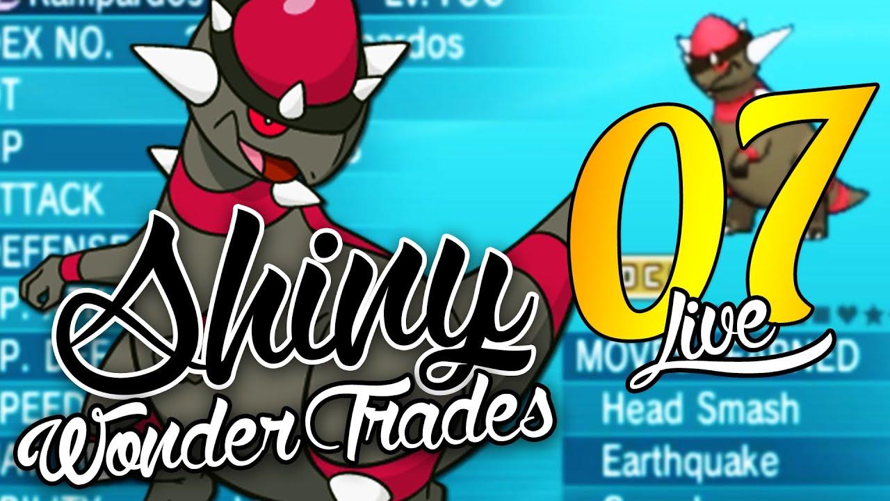 Pokemon Shiny Wonder Trades - EP 7 - SHINY RAMPARDOS! - Shiny Pokemon  Wonder Trades ORAS