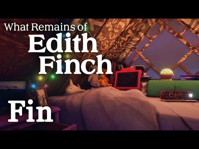 LE POIDS DU PASSÉ | What Remain of Edith Finch - Fin