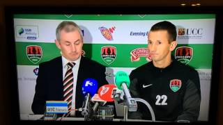 Liam Miller unveiled by Cork City FC. RTÉ 6.01 News