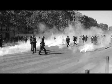 Acte 45 Tir De Lacrymogènes De La Gendarmerie Sur La Police