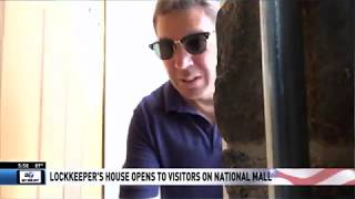 LOCKKEEPER'S HOUSE REOPENS ON NATIONAL MALL