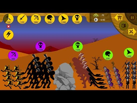 (♥‿♥) Army Archer and Giant vs Army All Avatar ● Stick War Legacy #FHD