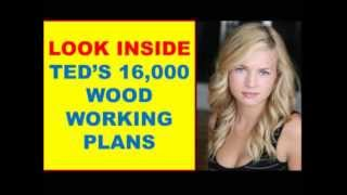 Woodworking Plans - Look Inside This Wood Working Plans With 16,000 Plans