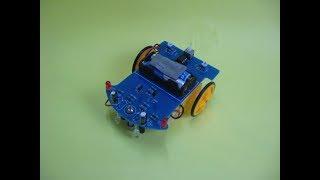 Como hacer un robot sigue linea sin arduino, planos de las pistas gratis .RamosElectroDron