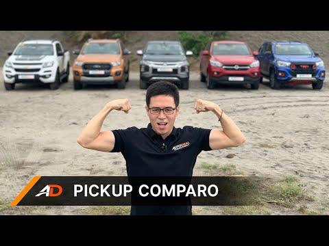 Ford Ranger Vs. Mitsubishi Strada Vs. Toyota Hilux Vs. Chevrolet Colorado Vs. SsangYong Musso Grand