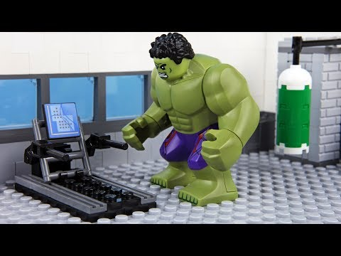 Lego Hulk Gym Fail