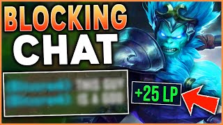 *PLAY BETTER INSTANTLY!* NO CHAT = FREE WINS (RANK 1 WUKONG) - League of Legends