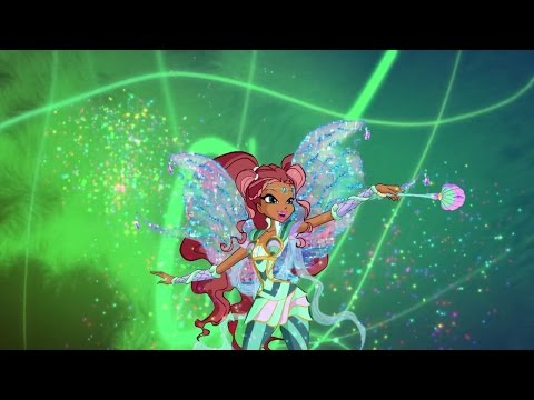 [HD] Winx Club:Legendary Duel-Aisha/Layla's Mythix