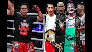 Kevin Belingon plans to be 5th Filipino ONE World Champion