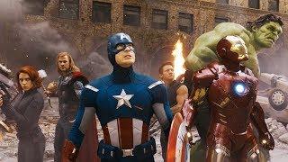 Мстители против армии Читаури. Финальная битва (Часть 1) | Мстители (2012)