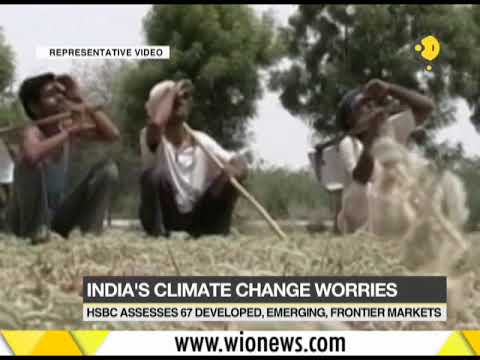 India most vulnerable country to climate change: HSBC report