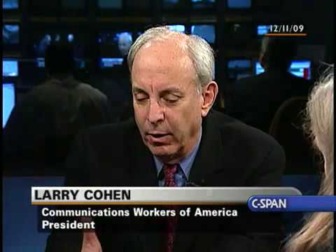 The Communicators: Larry Cohen, Communications Workers of America