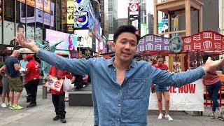 Trấn Thành, Hariwon và nghệ sỹ Ngọc Giàu tại New York