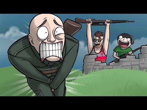 Nazi Nut Shots! - Sniper Elite 4 Funny Moments w/ Nogla |