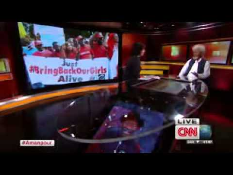 CNN's Amanpour's interview with Nigeria's Nobel Laureate Wole Soyinka on BringBackOurGirls