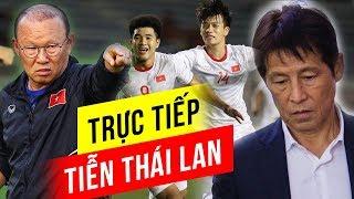 🔥Khẳng định tinh thần thép, thầy trò HLV Park Hang seo sẽ trực tiếp tiễn Thái Lan về nước