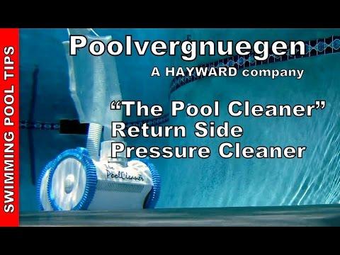 """The Pool Cleaner""  Return Side  Pressure Cleaner by Poolvergnuegen a Hayward Company"