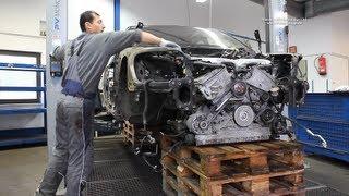 VW Phaeton 6.0 W12 450Ps - Unfall Crash wird zerlegt