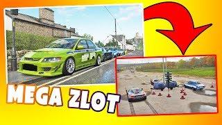 Forza Horizon 4 - MEGA długi zlot Fast And Furious ! Wyścigi drag!