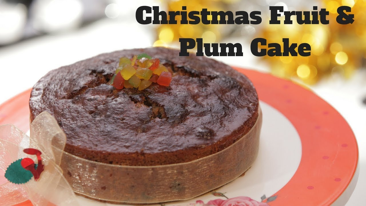 Rich Plum Cake Recipe In Pressure Cooker: Plum Cake In Pressure Cooker By