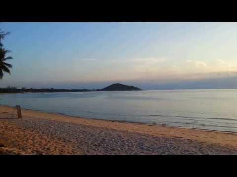 リパノイビーチ サムイ島西岸 サンセット Lipa Noi Beach Sunset, West coast of Koh Samui