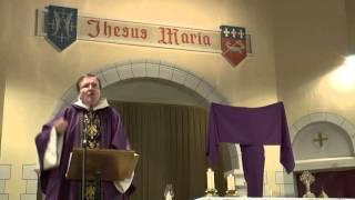 Homélie du 5e dimanche de Carême par le f. Thibaut du Pontavice  - La femme adultère