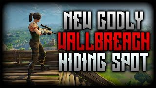 Fortnite Battle Royale New Glitches: New GODLY Hiding Spot Wallbreach See Through the Map PS4 PC XB1