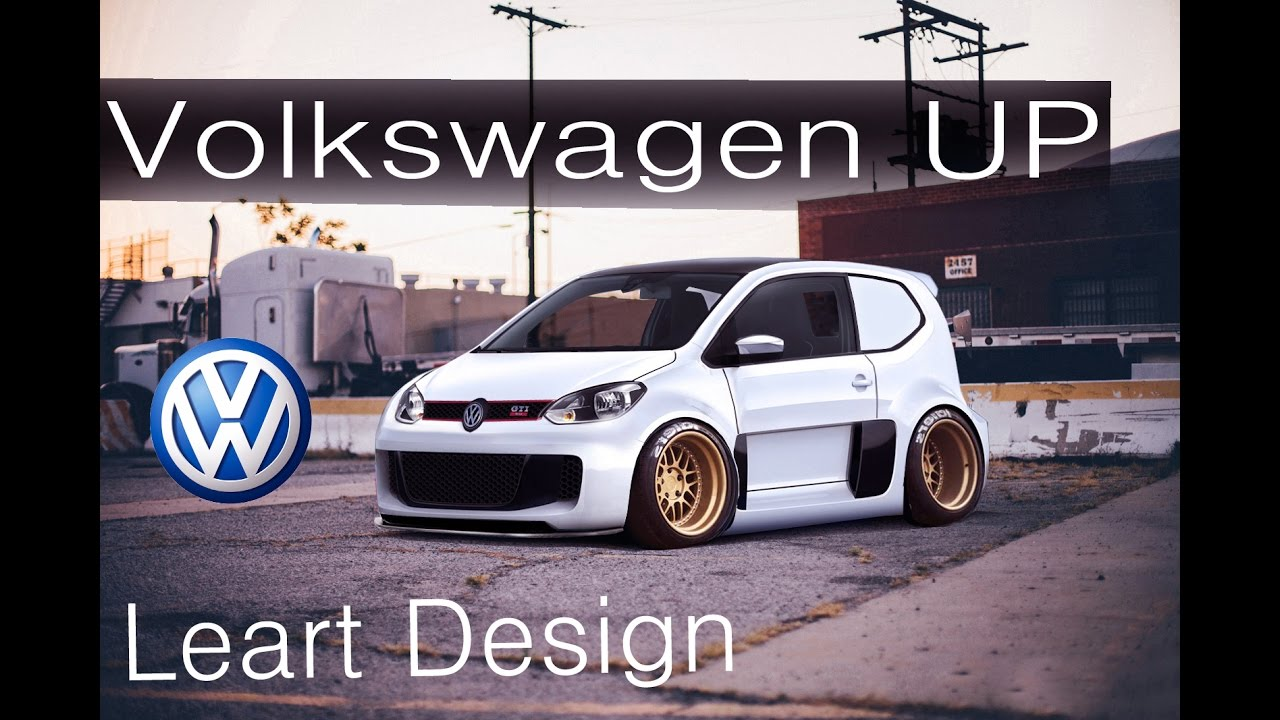 vw up virtual tuning leart design youtube. Black Bedroom Furniture Sets. Home Design Ideas