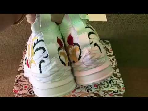 sports shoes 739da 2a39e KITH x Nike LeBron 15 King's Cloak (mksole.cn) - YouTube