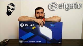 საუკეთესო განათება სტრიმებისთვის/let's play ვიდეოებისთვის ELGATO KEY LIGHT UNBOXING/SETUP