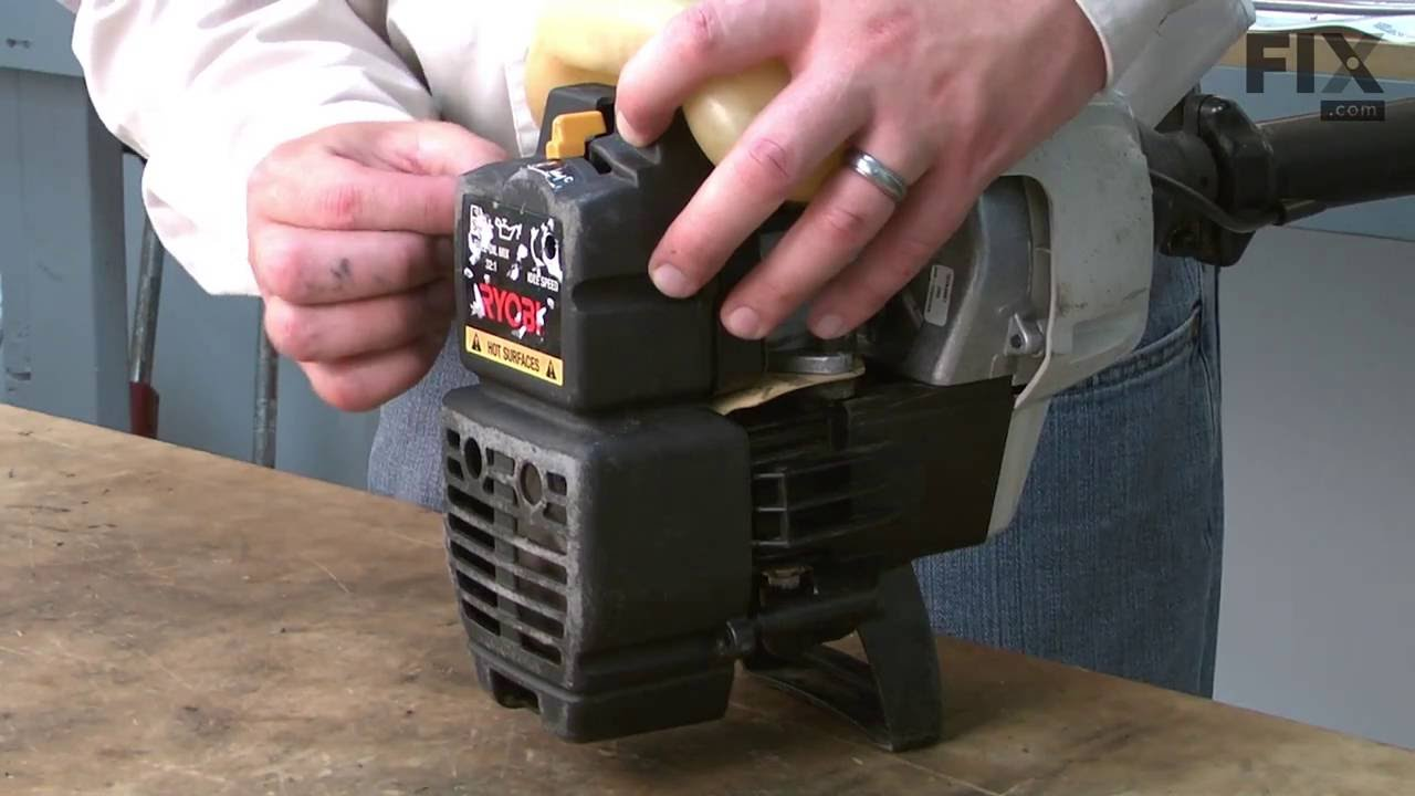 Ryobi Hedge Trimmer Repair – How to Replace the Fuel Line and Filter