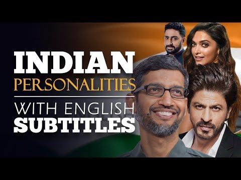 ENGLISH SPEECH | SUNDAR PICHAI & SRK: Indian Personalities Talks at Google (English Subtitles)