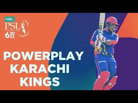 Karachi Kings Powerplay | Karachi Kings vs Multan Sultans | Match 9 | HBL PSL 6 | MG2T