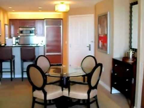 mgm signature one bedroom balcony suite. Signature at MGM Grand one bedroom suite  YouTube