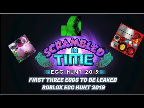 Eggs Being Leaked Egg Hunt 2019 Leaks Roblox - Egg Hunt All Games Boss Badge Leak New Eggs Roblox Egg