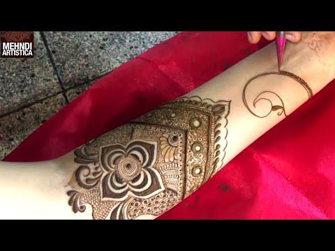 WATCH Most Beautiful fullHand Dulhan Mehndi Ever   Shagun Ke Liye Henna Mehandi thumbnail