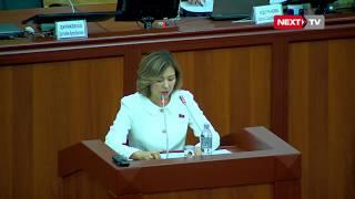 Депутат Махабат Мавлянова соцтармактардагы өзүнө айтылган айыптоолорго жооп кайтарды