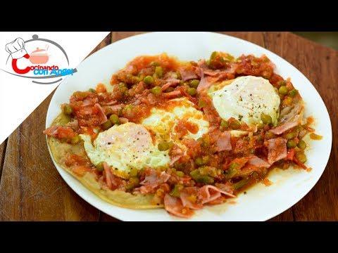 Huevos Motuleños | Desayuno Mexicano.