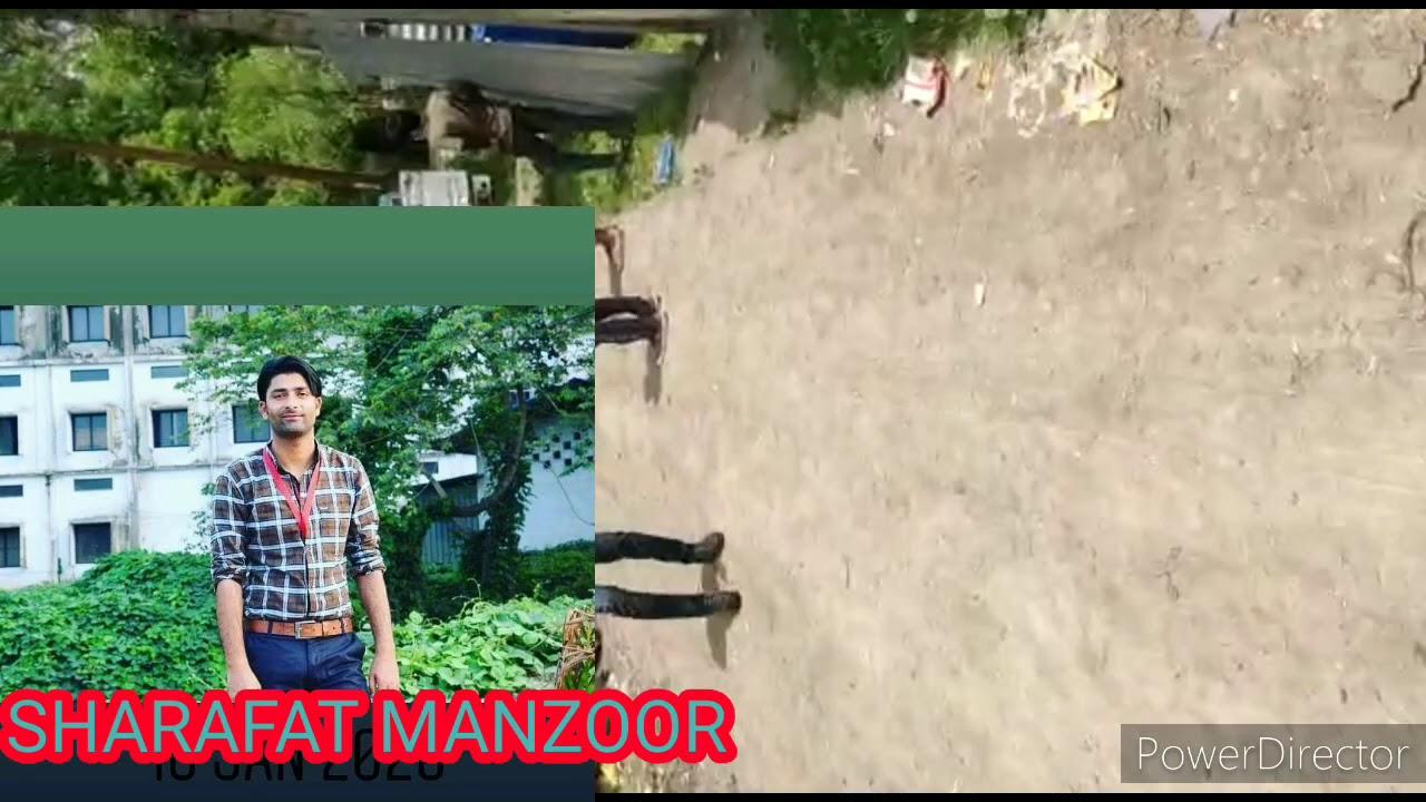 Ganipora handwara redzone area protest against administration