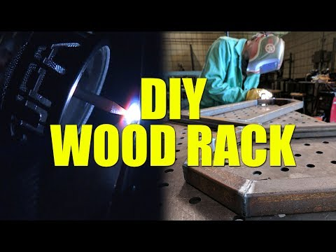 🔥 DIY Mini Wood Rack Project