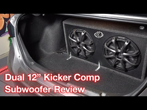 Kicker Comp Series Dual 12 Inch Subwoofers Expert Review and Sound Test