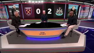Ian Wright and Gąry Lineker funny conversation.