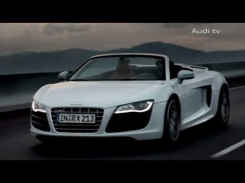 Audi R8 V10 Spyder Promo  YouTube