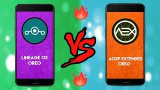 Which is Best Rom Lineage os vs Aosp Extended   Speedtest & Ram test  