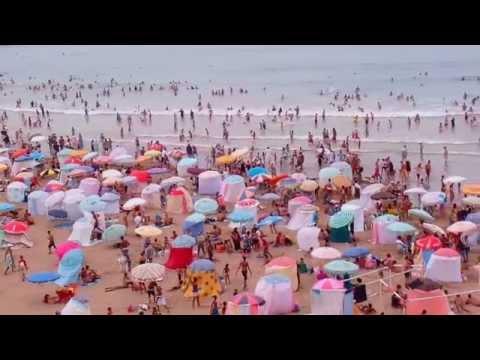 Rabat beach morocco - Plage de Rabat - شاطيء الرباط المدينة