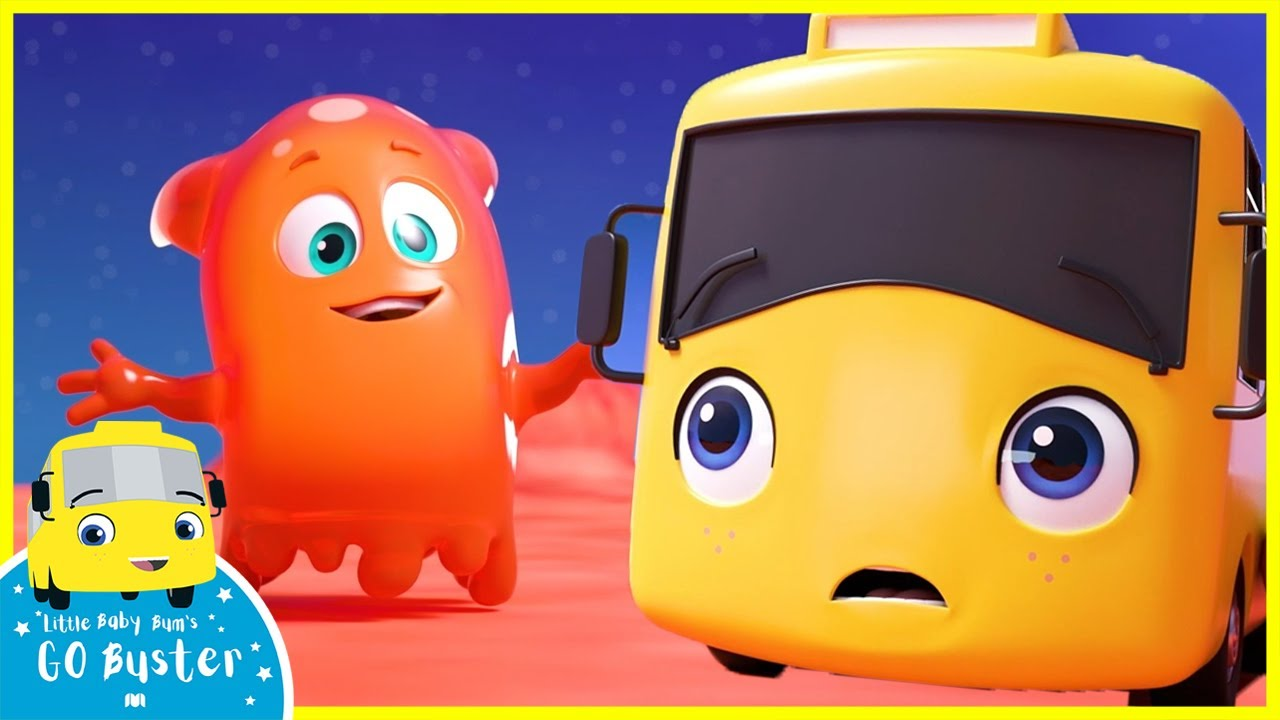 Rock-a-Bye Buster and More Kids Songs! | Buster Meets an Alien! | Go Buster | Kids Videos