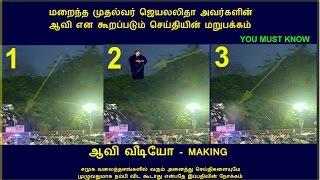 Jayalalitha's Ghost Video Making Truth- Shocking News Jayalalitha's Ghost Apollo CCTV Footage- Proof