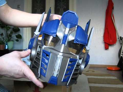 Как сделать из бумаги шлем оптимуса прайма 935