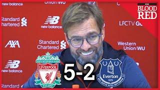 Jurgen Klopp FULL Post-Match Press Conference   Liverpool 5-2 Everton